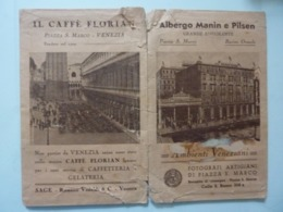 """Busta Pubblicitaria Per Fotografie """"AMBIENTI VENEZIANI FOTOGRAFI ARTIGIANI S. MARCO"""" Anni '30  Strappi - Pubblicitari"""