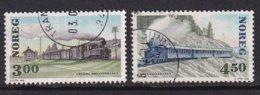 Norway 1996, Trains Complete Set, Vfu - Gebraucht
