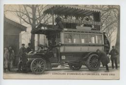Voiture Peugeot Concours D Omnibus Automobiles Paris 1905 - Frankreich