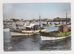 85 Ile De Noirmoutier N°191 L'Herbaudière Le Port En 1963 Beau Plan Bateaux De Pêche - Ile De Noirmoutier