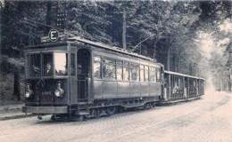 Société Nationale Des Chemins De Fer Vicinaux - 1920 - Tram N°E  Place Rouppe Espinette - Transporte Público