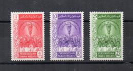 Gran Bretagna - (Vecchie Colonie E Protettorati MALESIA) - 1959 - 3 Valori - Nuovi - * - (FDC17480) - Malayan Postal Union