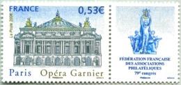 N° Yvert & Tellier 3926 - Timbre De France (Année 2006) - MNH - Opéra Garnier à Paris - Francia