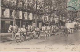 """75 """"scnes Parisiennes """" Un Fardier """" - Petits Métiers à Paris"""