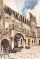 """Slovenia. Capodistria - Palazzo Pretorio Illustrazione """"Unione Degli Istriani"""" - Slovenia"""