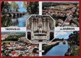 Cpsm 55 TRONVILLE EN BARROIS Multivues Peniche Daguin - Sonstige Gemeinden