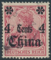 Chine German Office – 4 Cent - Used - Used Stamps
