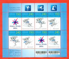 Kazakhstan 2010.Small Sheet. Asian Games. - Winter (Other)