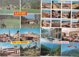 GROS LOT DE 700 CARTES UNIQUEMENT MULTIVUES   Pas De Paris Fantaisies Et Etrangeres Lot Tres Propre - Postkaarten