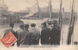 59-DUNKERQUE- DEPART DES PÊCHEUR ISLANDAIS, LES ADIEUX - Dunkerque