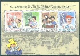 NEW ZEALAND - MNH/** - 1994 - HEALTH - Yv Bloc 95 Mi Bl 43 SG MS1817 Sc B148a  - Lot 20397 - Blocs-feuillets