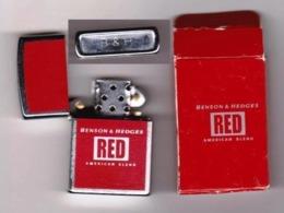 """Briquet """" RED """" BENSON & HEDGES _Di452 - Lighters"""