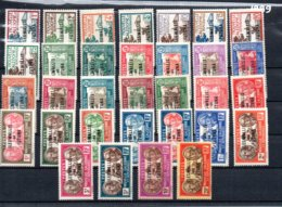 WAllis Et Futuna N° 43 à 65 * Et **  A Saisir !!! - Unused Stamps