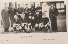 "Photo ""Miroir Des Sports"" - O.G.C.Nice - Fussball"