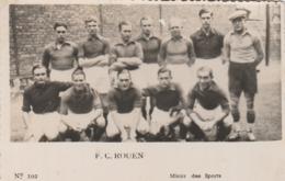 "Photo ""Miroir Des Sports"" - F.C.Rouen - Fussball"