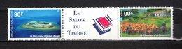 Nlle CALEDONIE  PA N° 323A   NEUF SANS CHARNIERE  COTE 5.40€  PAYSAGE SALON DU TIMBRE  ILE - Luftpost