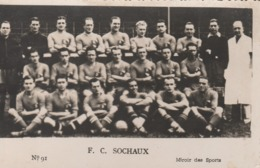 "Photo ""Miroir Des Sports"" - F.C.Sochaux - Fussball"