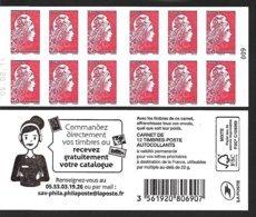 CARNET 12TP YSEULT YZ  - L'ENGAGEE - TVP LP -  Catalogue - Daté Du 05 08 19 - NEUF - NON PLIE - Usage Courant