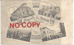 Zola Predosa, Reale, Oggi Riale, 1910, Saluti. Gessi, Villa Veronesi, Premiata Officina Boldrini, Via Principale. - Bologna