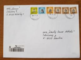 Lithuania Litauen Cover Sent From Serksnenai To Siauliai 2007 - Lituania