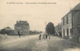 CPA 44 Loire Atlantique Inférieure Vertou Route De Clisson à Tournebride Près La Gare Hotel Café Buvette Forge - Autres Communes
