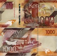 KENYA       1000 Shilingi       P-New       2019       UNC - Kenya