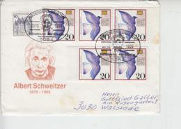 GERMANIA 1988 - Annullo Speciale - Schweitzer - Albert Schweitzer