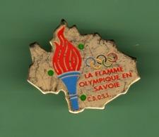 JO ALBERTVILLE 92 *** LA FLAMME OLYMPIQUE EN SAVOIE *** 1062 (122) - Olympische Spelen