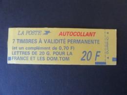 France - Carnet Marianne Briat N°1503b Neuf - Timbres 2807a, 2824b - Carnets