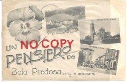 Zola Predosa, Bologna, 11.8.1915, Un Pensiero, Le Fontanelle Sul Lavino, Borgata Lavino, Chiesa Di S. Nicolò. - Bologna