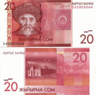 KYRGYZSTAN       20 Som       P-New       2016       UNC - Kirgisistan