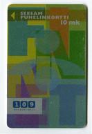 Telecarte °_ Finlande-109 Kaukopuhelu-métallisée-12.98- R/V 2369 ° LUXE - Finnland