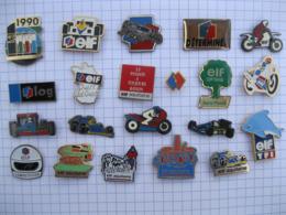 ELF Lot De 21 Pin's - Badges