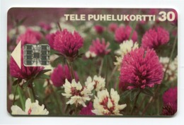 Telecarte °_ Finlande-Fleurs Sauvages-Sc7--04.95- R/V 9446 ° TBE - Finnland