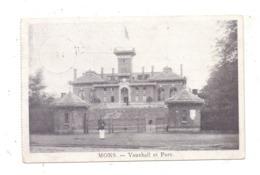 B 7000 MONS, Vauxhall & Parc, 1917, Deutsche Feldpost Lazarett - Mons