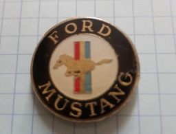 ☺♦♦ Pin's Pins / THEME AUTOMOBILE  - FORD LOGO MUSTANG ֎ - Ford