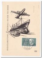 Duitsland 1958, Rudolf Diesel - BRD