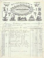 44  NANTES   L. LOFRAY &  DUROUSIER  QUINCAILLERIE   2 QUAI DES  TANNEURS   TEL  44 - Frankreich