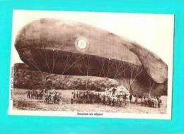 Dirigeables Au Départ - Zeppeline