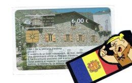 TC ANDORRA ANDORRE  NEUVE LUXE ORIGINAL PLASTIC - Andorra