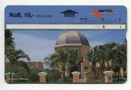 Telecarte Antilles Netherlands-Curaçao-40+15- R/V 1734 - Antillen (Nederlands)