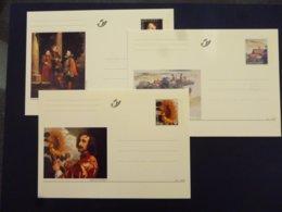 BELGIE BRIEFKAART 71/73 AAN POSTPRIJS - Stamped Stationery