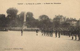 CPA Militaire - NANCY - La Revue Du 14 Juillet (90683) - Nancy