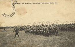 CPA Militaire - NANCY - 79e De Ligne - Defile Au Plateau (90769) - Nancy