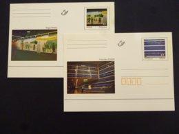 BELGIE BRIEFKAART 74/75 AAN POSTPRIJS - Stamped Stationery