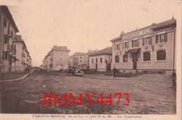 CPA - PARAY LE MONIAL - La Cité P.- L.- M. La Coopérative En 1938 - 71 Saône Et Loire - Phot. COMBIER - Paray Le Monial