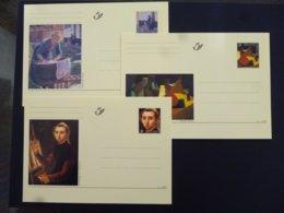 BELGIE BRIEFKAART 76/78 AAN POSTPRIJS - Stamped Stationery