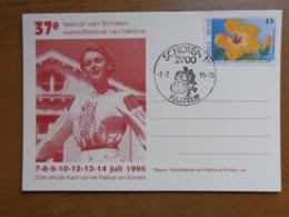 Briefkaart, 37ste Festival Van SCHOTEN, Wereldfestival Van Folklore --> Onbeschreven - Schoten