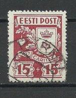 ESTLAND Estonia 1937 Caritas Michel 128 O PÄRNU - Estland