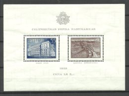 Lettland Latvia 1938 Michel Block 1 MNH - Lettonie